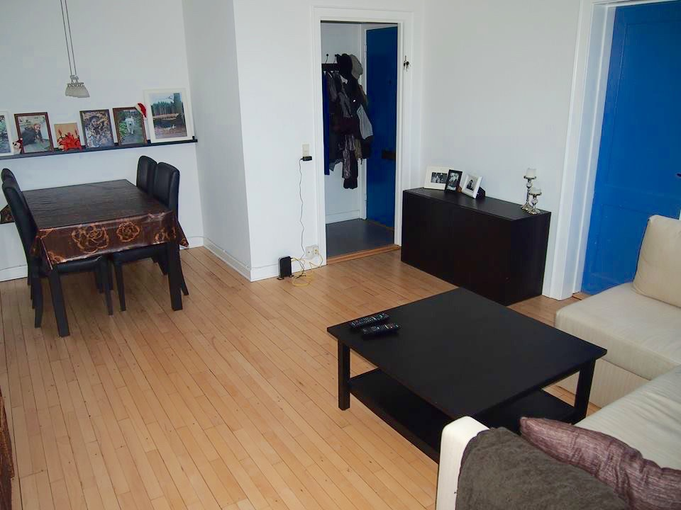 Halvanden værelses lejlighed